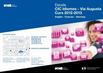 Escola CIC Idiomes - Via Augusta Curs 2012-2013 - CIC | escola d ...