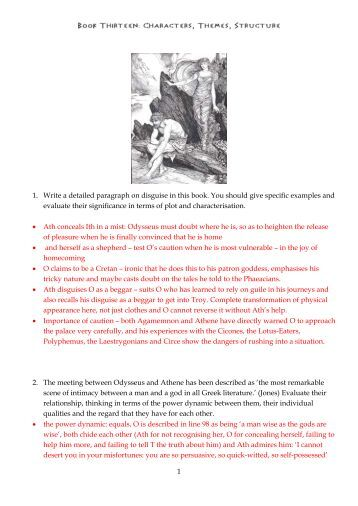 how to write a detailed paragraph