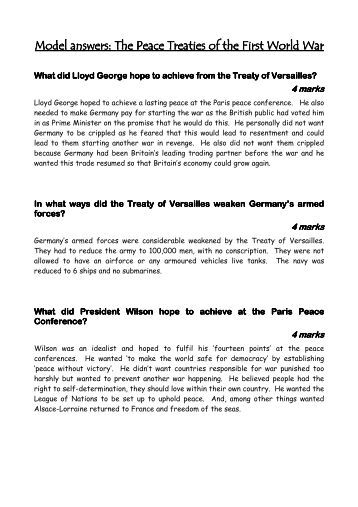 4a the treaty of versailles part 1 worksheets boardworks. Black Bedroom Furniture Sets. Home Design Ideas