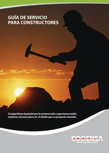 GUÍA DE SERVICIO PARA CONSTRUCTORES - Construdata.com