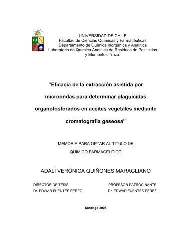 """""""Eficacia de la extracción asistida por microondas para determinar ..."""