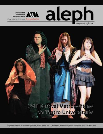 Aleph enero-febrero 2013 - UAM Azcapotzalco