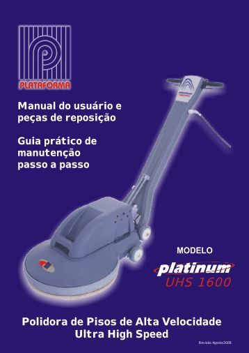 Manual Polidora de pisos - UHS1600 - Nilfisk