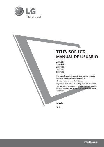"""manual de instrucciones televisor lcd portátil (7"""") tv"""