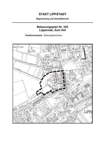 begr ndung bebauungsplan nr 259 overhagen im lippstadt. Black Bedroom Furniture Sets. Home Design Ideas