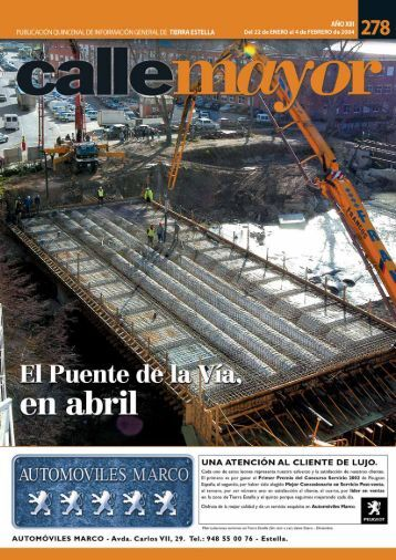 CME n¼ 278 - REVISTA CALLE MAYOR
