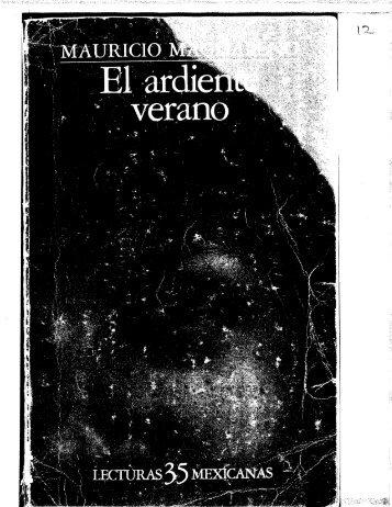 12. El Ardiente Verano - De vuelta a la página principal.
