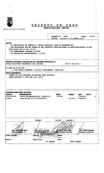 PAGO - Municipalidad de Freire