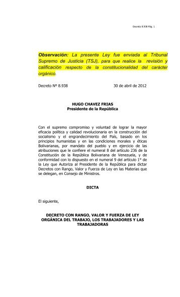 DECRETO-LEY-ORGANICA-DEL-TRABAJO-ENVIADA