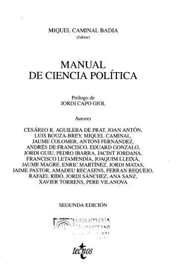 Manual de Ciencia Política - U-Cursos