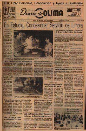 En Estudio, Concesionar Servicio de Limpi a - Universidad de Colima