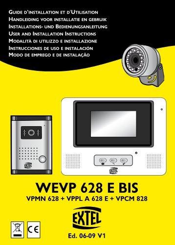 WEVP 628 E BIS - cfi extel
