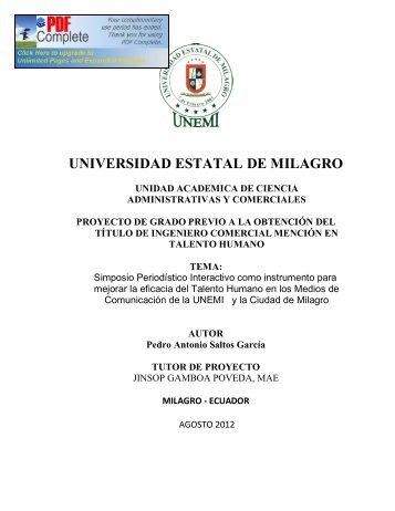 simposio periodistico interactivo.pdf - Repositorio de la Universidad ...