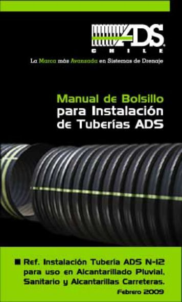Manual de Bolsillo para Instalación de tuberías ADS - Tuberia ...