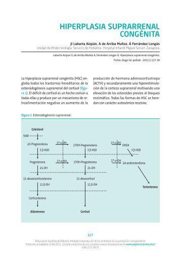 Hiperplasia suprarrenal congénita - Asociación Española de Pediatría