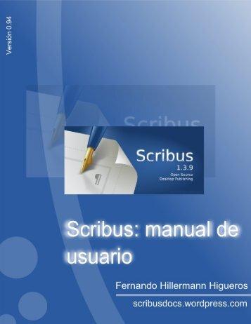 Scribus manual