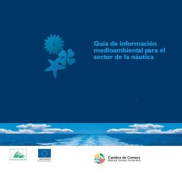 Guía medioambiental: náutica - Cámara de Comercio de Mallorca