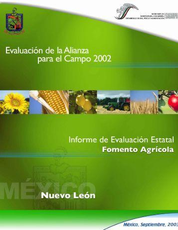 Fomento Agrícola - Portal OEIDRUS Nuevo León