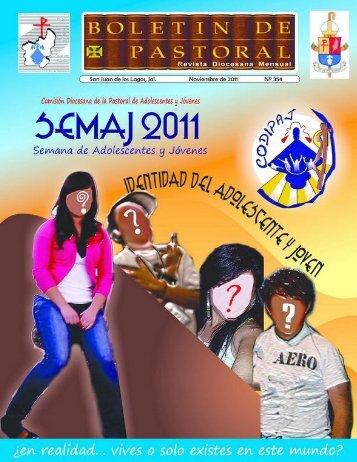 Boletín 354 Jóvenes - Diócesis de San Juan de los Lagos