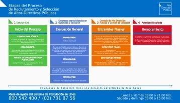 Etapas del Proceso de Reclutamiento y Selección de ... - Servicio Civil