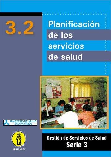 3.2 Planificación de los Servicios de Salud (documento completo)