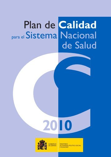 Plan de Calidad para el Sistema Nacional de Salud (SNS)
