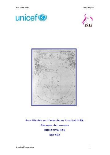 1 Acreditación por fases de un Hospital IHAN: Resumen del proceso ...