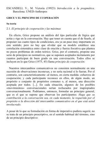 Máximas Escandell - Web del Profesor