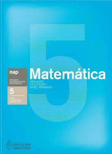 Matemática - Ministerio de Educación