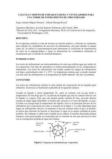 CALCULO Y DISEÑO DE EMPAQUETADURA Y VENTILADORES ...
