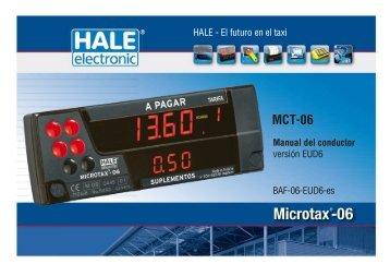 manual de conductor (1.14 MB) - Hale electronic GmbH