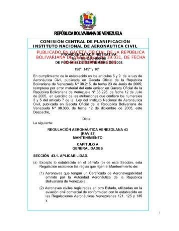 PROVIDENCIA N° DE DE 2004 - Aviacion Civil