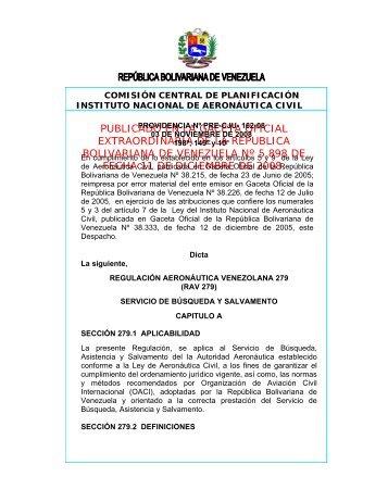 PROVIDENCIA N° DE DE 2004 - INAC