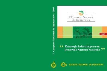 7mo Congreso de Industriales - Sociedad Nacional de Industrias