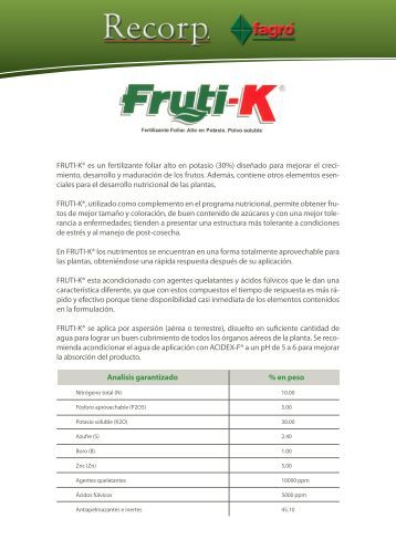 Nutrici n foliar haifa group for Un fertilizzante
