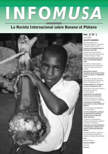 Infomusa 11-1 (ESP) - EcoNegocios Agrícolas