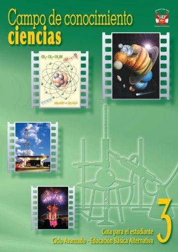 Ciclo Avanzado - EBA Campo de conocimiento ciencias Guía para ...