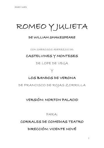 romeo y julieta - Ebaobab.com
