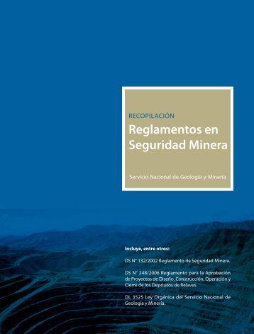 Reglamentos en Seguridad Minera - Fundación IST