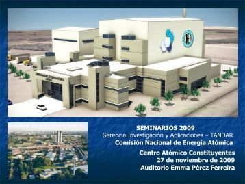 diapositivas de la presentación - Laboratorio Tandar - Comisión ...