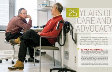 25 YEARS OF CARE AND ADVOCACY