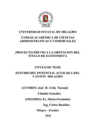 PROYECTO 5.pdf - Repositorio de la Universidad Estatal de Milagro ...