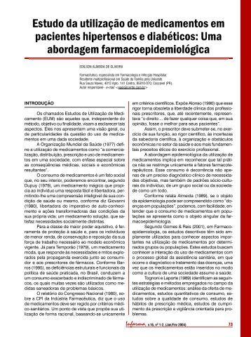 Consulta de Enfermagem para pacientes diabéticos e hipertensos