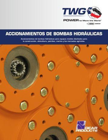 ACCIONAMIENTOS DE BOMBAS HIDRÁULICAS - TWG