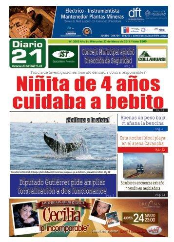 Concejo Municipal aprobó Dirección de Seguridad ... - Diario 21