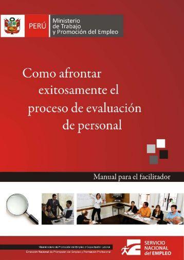 como afrontar exitosamente el proceso de evaluaciónde personal
