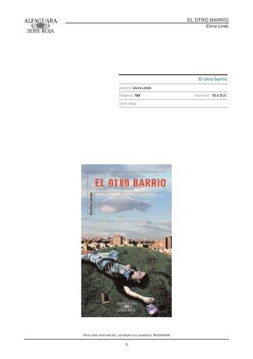 EL OTRO BARRIO - Alfaguara