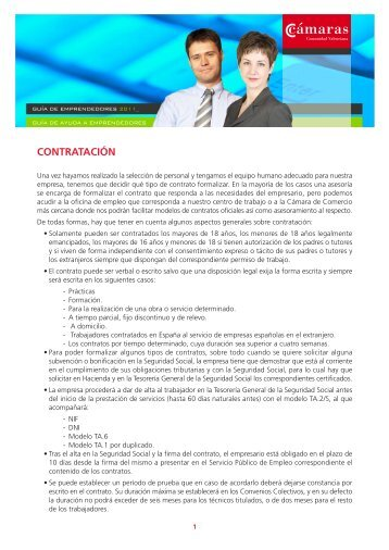 CONTRATACIÓN - Cámara de Comercio de Valencia