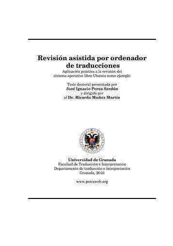 Revisión asistida por ordenador de traducciones - OpenTranslation