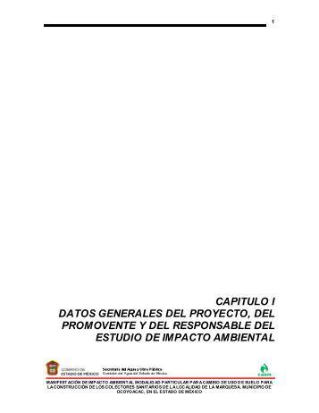 Construcción de los Colectores Sanitarios en la ... - sinat - Semarnat